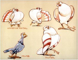 Pigeons by Rowland B. Wilson Disney the Hunchback of Notre Dame pictures image