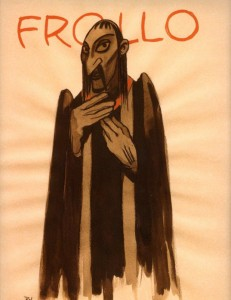 Frollo by Rowland B. Wilson Disney the Hunchback of Notre Dame picture image