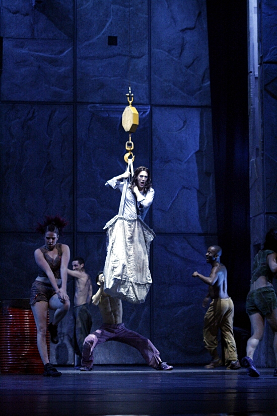 Gringoire during the Court of Miracles Asian Tour Notre Dame de Paris picture