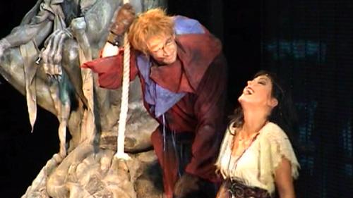 Esmeralda & Quasimodo Der Glöckner von Notre Dame picture image