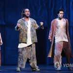 Ian Carlyle as Clopin Notre Dame de Paris Asian Tour picture image