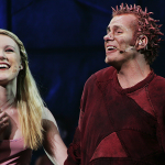 Lily-Jane Young as Fleur de Lys and Matt Laurent as Quasimodo Notre Dame de Paris Asian Tour picture image