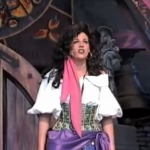 Esmeralda from the Stage Show of Disney Hunchback of Notre Dame at MGM Studios picture image