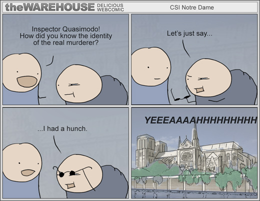 CSI Notre Dame  Comic made by theWAREHOUSE