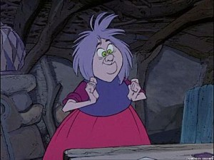 Mad Madam Mim The Sword in the Stone picture image