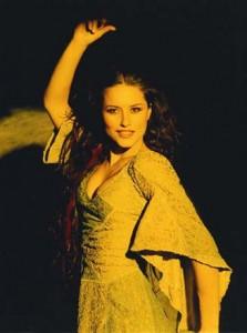 Lola Ponce as Esmeralda Original Italian Cast Notre Dame de Paris picture image