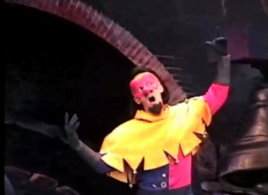 Clopin's singnature pose Disney Hunchback of Notre Dame Stage Show picture