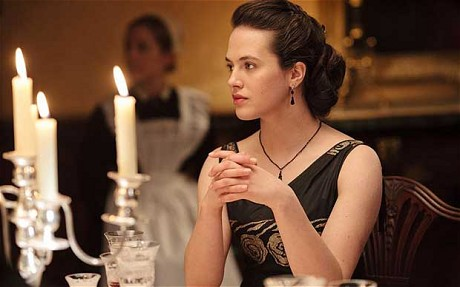 Jessica Findlay-Brown as Lady Sybil Crawley from Downton Abbey Season 2 picture image