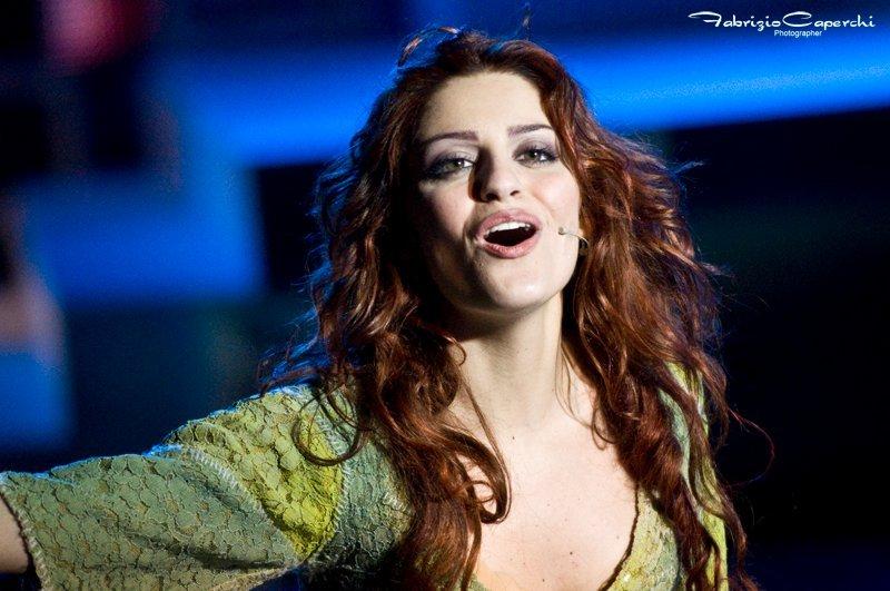 Federica Callori 2011-2012 Italian Esmeralda Notre Dame de Paris picture image