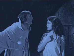 Esmeralda (Pasty Ruth Miller) and Jehan Frollo (Brandon Hurst) Hunchback of Notre Dame 1923 picture image