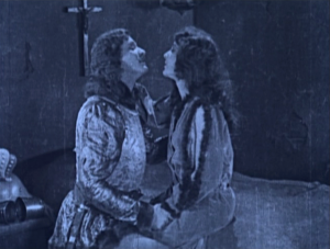 Phoebus (Norman Kerry) and Esmeralda (Patsy Ruth Miller) 1923 Hunchback of Notre Dame picture image