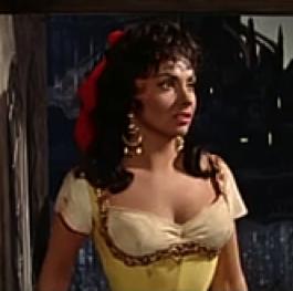 Gina Lollobrigida as Esmeralda Hunchback of Notre Dame 1956 picture