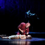 Candice Parise as Esmeralda and Matt Laurent as Quasimodo Asian Tour Cast 2012 Notre Dame de Paris picture image