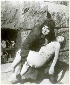 Quasimodo (Lon Chaney), Esmeralda (Patsy Ruth Miller) and Gudule (Gladya Brockwell) Hunchback of Notre Dame 1923 picture image