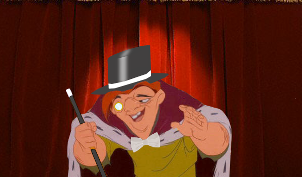 Quasimodo as a Vaudeville Star picture image