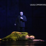 Candice Parise as Esmeralda & Robert Marien as Frollo 2012 Asian Tour Cast Notre Dame de Paris picture image