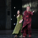 Cadice Parise as Esmeralda and Matt Laurent as Quasimodo Asian Tour Cast Notre Dame de Paris 2012 picture image