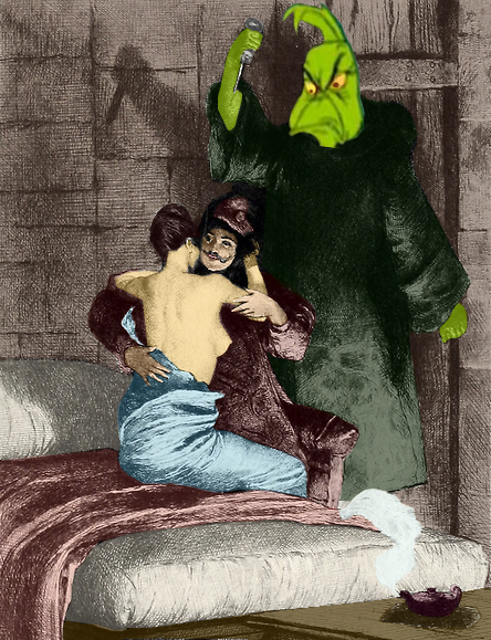 The Grinch as Frollo picture image