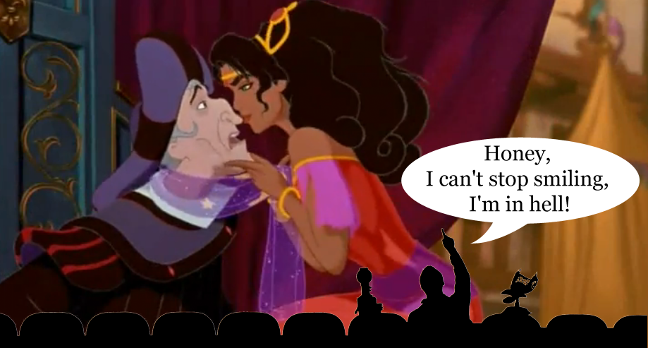 Mystery Science Theatre 3000 meets Disney Hunchback of Notre Dame   picture image