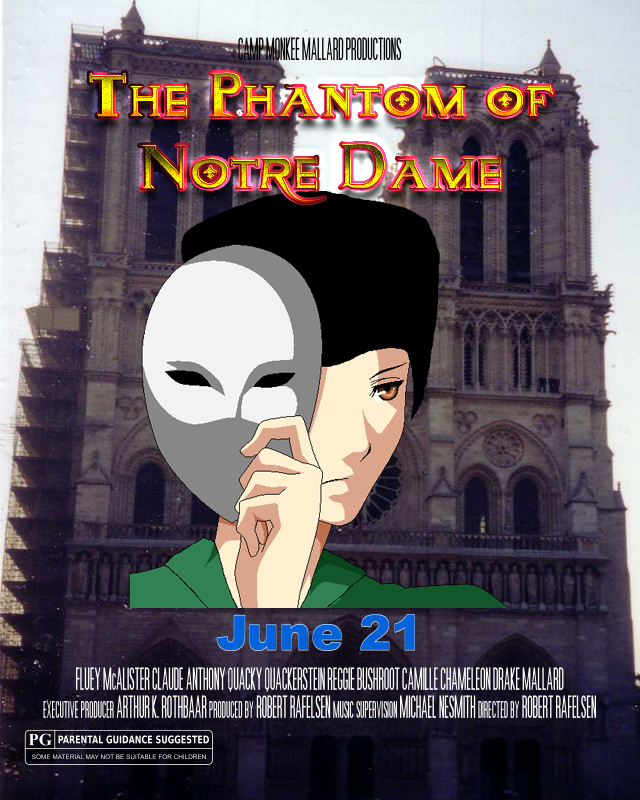 The Phantom of Notre Dame by Fluidgirl82