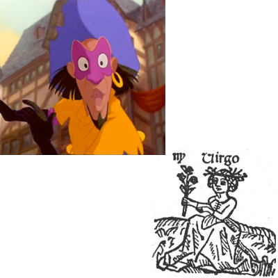 Virgo Clopin Hunchback of Notre Dame picture image