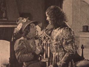 Gringoire (Raymond Hatton) & Phoebus (Norman Kerry) 1923 Hunchback of Notre Dame picture image