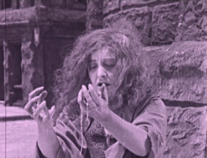 Sister Gudule (Gladys Brockwell) Hunchback Notre Dame 1923 picture image
