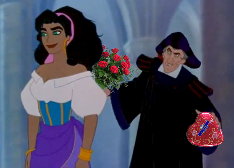 Frollo is a Ladies' Man Hunchback of Notre Dame disney