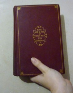 My Old Copy of Notre Dame de paris