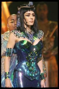 Sofia Essaïdi as Cleopatra from Cléopâtre, la Dernière Reine d'Égypte picture image