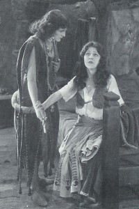Patsy Ruth Miller as Esmeralda with Eulalie Jenson as Marie 1923 Hunchback of Notre Dame picture image