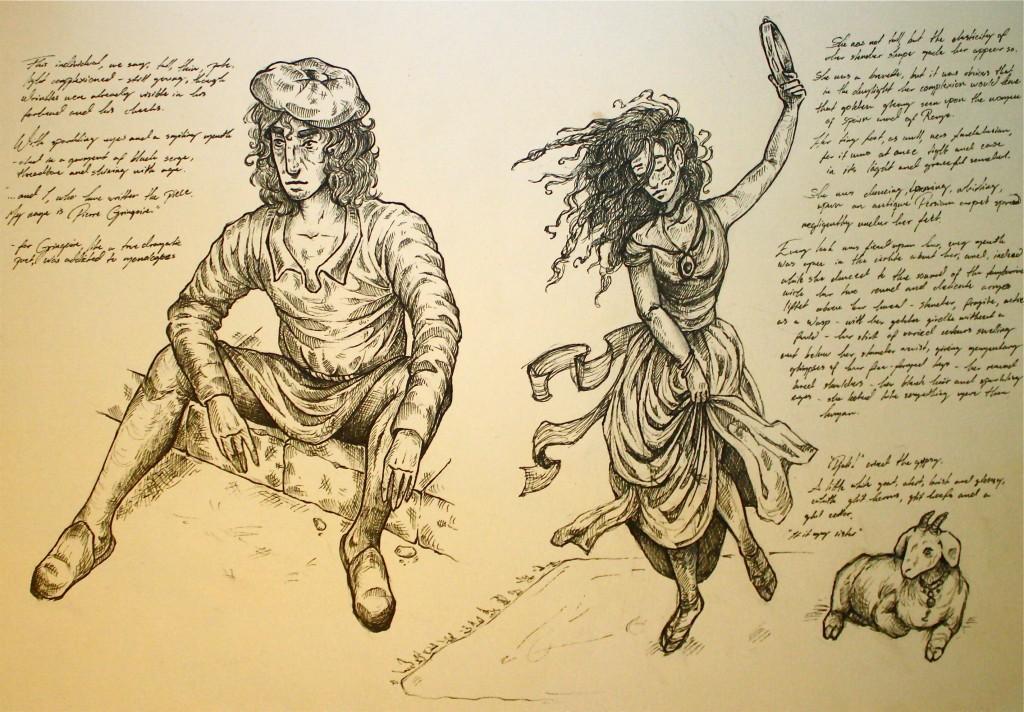 Gringoire & Esmeralda by Ida Christensen picture image