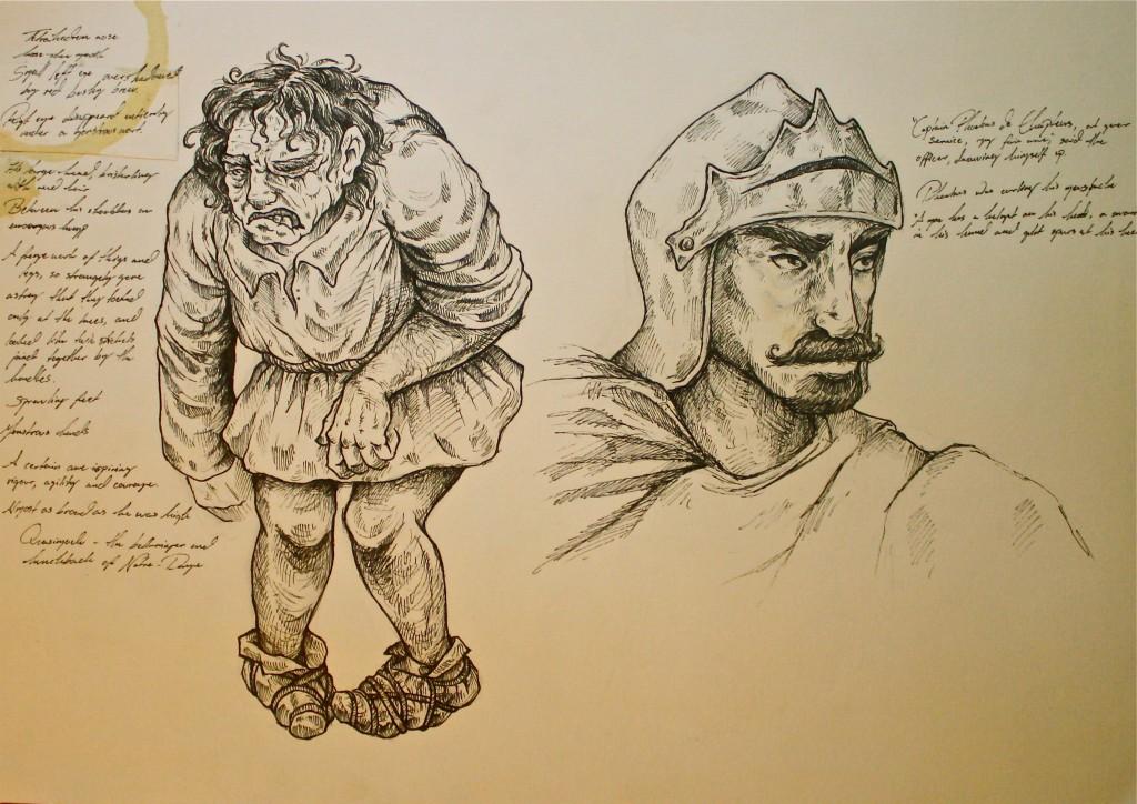 Quasimodo and Phoebus by Ida Christensen picture image
