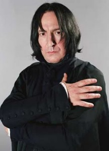Alan Rickman as Professor Severus Snape from Harry Potter picture image