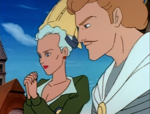 Phoebus and Fleur de Lys from the Jetlag version of The Hunchback of Notre Dame picture image