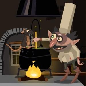 Quasimodo & Esmeralda from Hotel Transylvania Game picture image