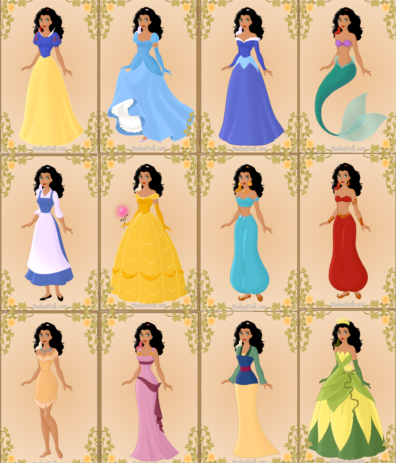 Esmeralda as other Disney Character picture image