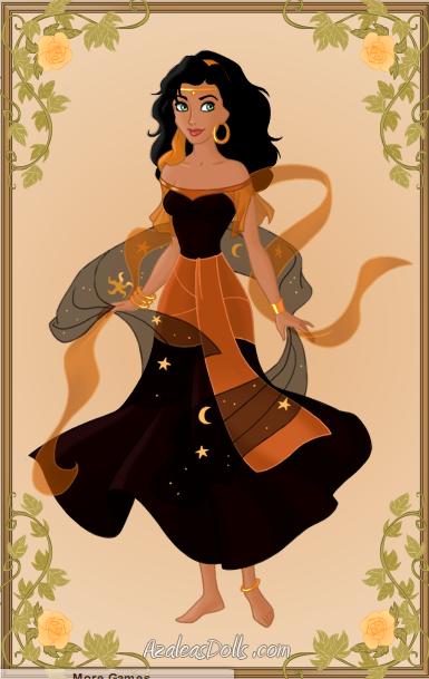 Halloween Style Esmeralda picture image