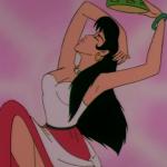 Esmeralda dancing Jetlag Hunchback of Notre Dame picture image