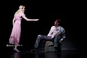 Lilly-Jane Young as Fleur de Lys & Stephen Webb as Phobus, Notre Dame de Paris Asian Tour picture image