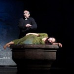 Robert Marien as Frollo & Candice Parise as Esmeralda Notre Dame de Paris Asian Tour picture image