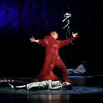 Matt Laurent as Quasimodo & Candice Parise as Esmeralda Notre Dame de Paris Asian Tour picture image