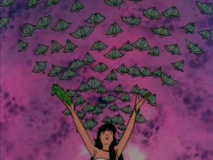Esmeralda releases bats, The Hunchback of Notre Dame, Jetlag picture image
