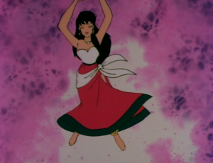 Esmeralda swaying, The Hunchback of Notre Dame, Jetlag picture image