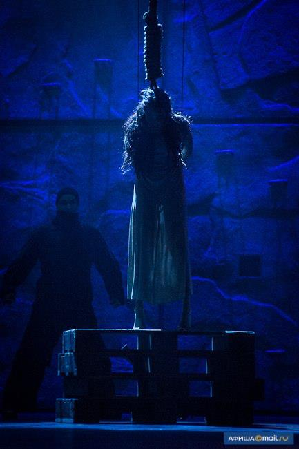 The Death of Esmeralda (Alessandra Ferrari), World Tour Cast Notre Dame de Paris, Crocus City picture image