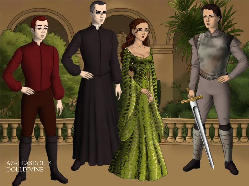 Notre Dame de paris Belle scene using Game of Thrones Scene markers from Azalea Doll Game