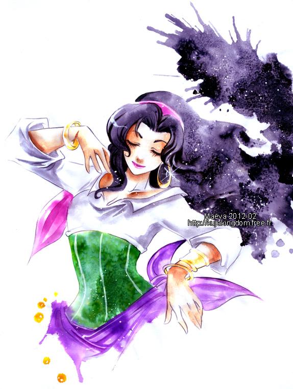 Esmeralda by Maevachan