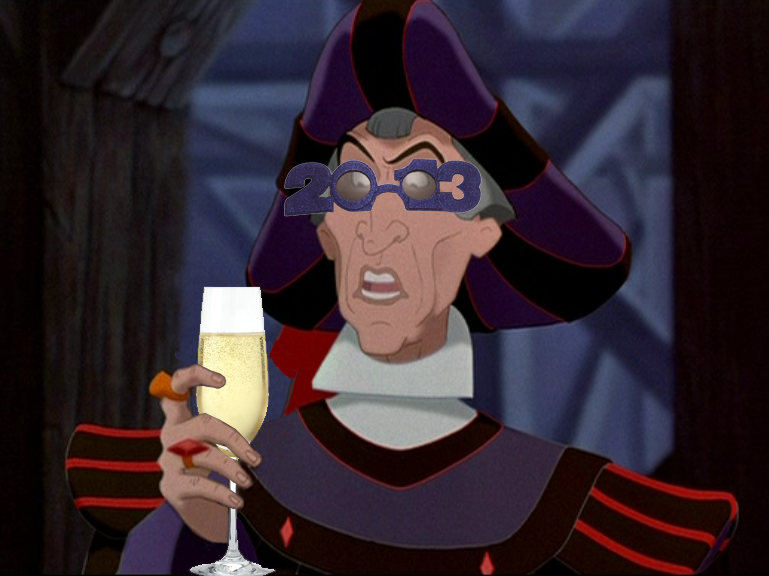 Frollo rings in new year 2013 in style picture image