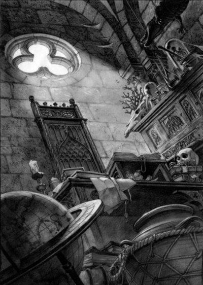 Frollo's Lab, Benjamin Lacombe Notre Dame de Paris picture image