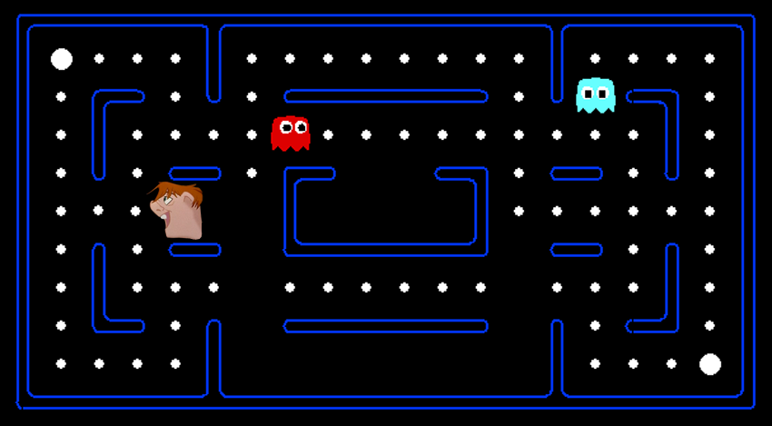 Quasimodo as Pac-Man picture image